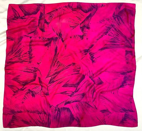 SAMPLE 09 - 100% Silk Twill Scarf - 90cm x 90cm