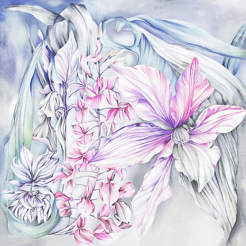 'Dinali Pink' Oversized Luxury Silk Scarf
