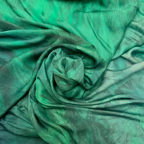 SAMPLE 23 - 100% Silk Twill Scarf - 140cm x 140cm