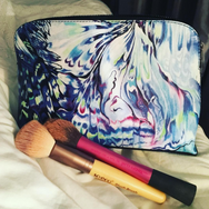 'Malay Lavender' Medium Cosmetic Bag