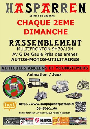 Affiche Club Soupapes et pistons Hasparren Pays Basque près de Bayonne.jpg