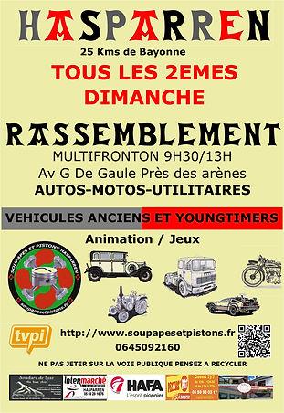 Affiche A4-300-Club Soupapes et pistons Hasparren Pays Basque près de Bayonne.jpg