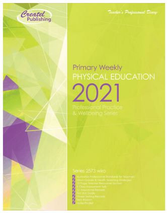 Createl Primary Phys Ed Weekly Planner 2021