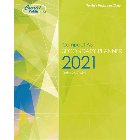 Createl Secondary Compact A5 Daily Planner 2021