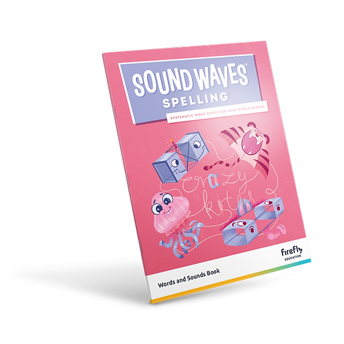 Sound Waves Spelling Words and Sounds Book