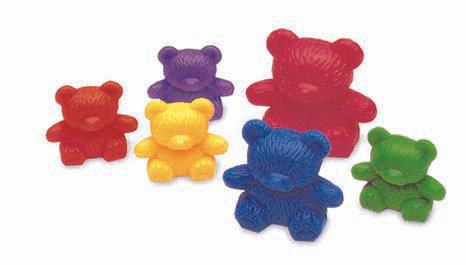 Three Bear Family Counters