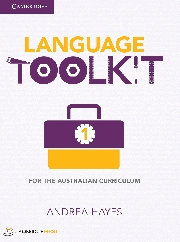 Language Toolkit for the Aust Curriculum