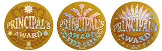 Principal's Foil Glitz Award 40mm Sticker (72)