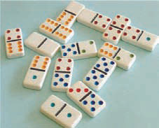 Dominoes 6x6, 9x9 or 12x12