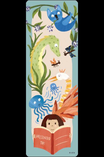 Wild Creatures Bookmarks