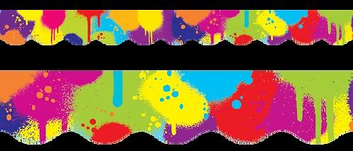 Spray Paint Border