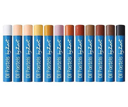 Oil Pastels Skin Tones