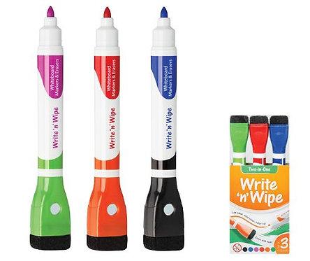 Write n Wipe Whiteboard Markers