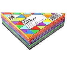 Brenex Paper Triangles