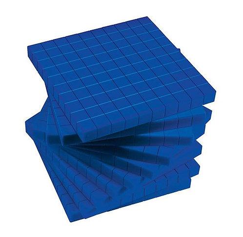 MAB Base Ten Flats Plastic
