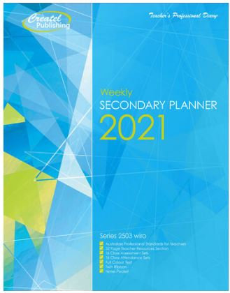 Createl Secondary Weekly Planner 2021
