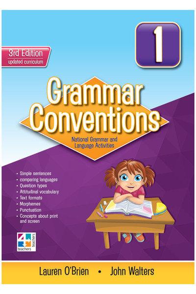 Grammar Conventions 3rd Ed