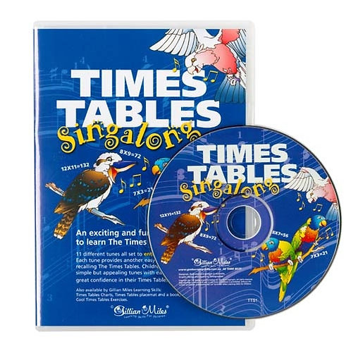 Times Tables Singalong CD