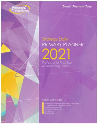 Createl Primary Daily Strategy Planner 2021