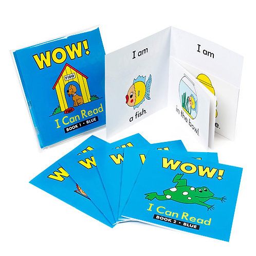 Literacy Books Wow! I Can Read