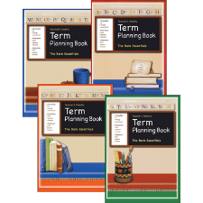 Teachers Weekly Term Planning Book (Set of 4)
