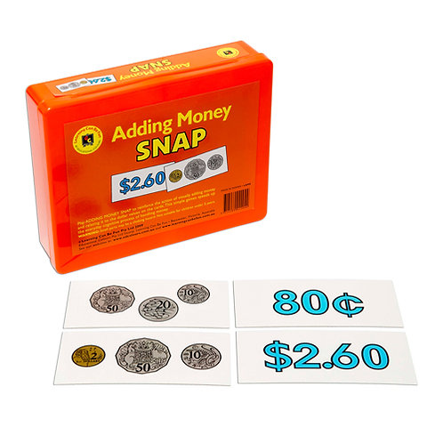 Adding Money Snap Game