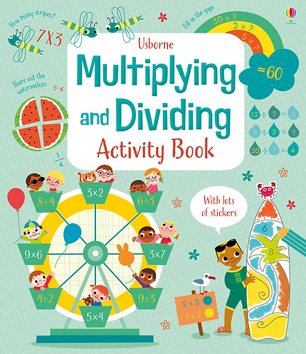 Multiplying & Dividing Activity Book