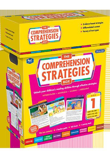 The Comprehension Strategies Box