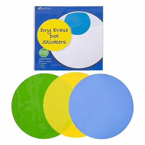 Dry Erase Dot Stickers