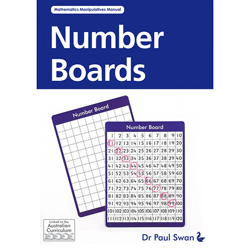 Number Boards Book