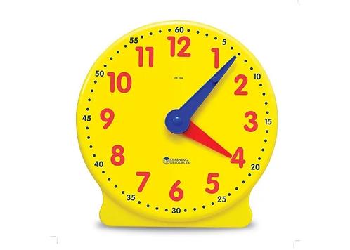 Geared Teacher Demo Clock