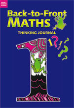 Back to Front Maths Thinking Journals