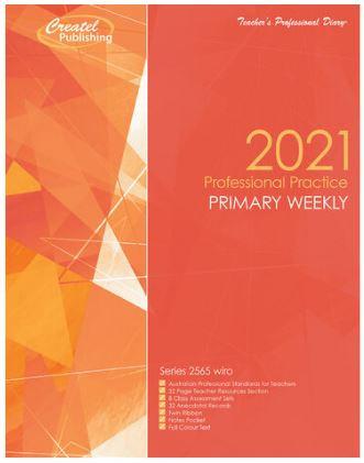 Createl Primary Prof Practice Weekly Planner 2021