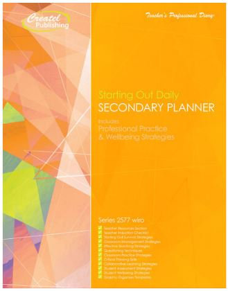 Createl Secondary Starting Out Planner 2021