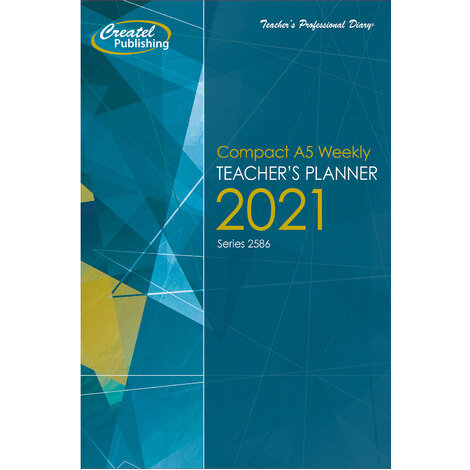 Createl Compact A5 Hardcover Weekly Planner 2021