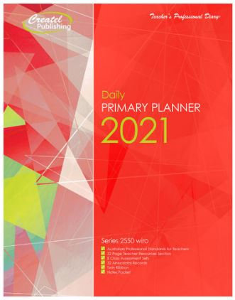 Createl Primary Daily Planner 2021
