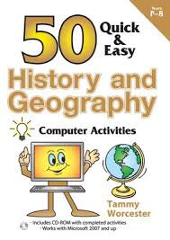 50 Quick & Easy Hist & Geog Computer Activities
