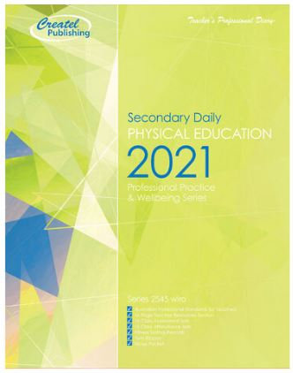 Createl Secondary Phys Ed Daily Planner 2021