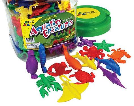 Counters Aquatic Creatures