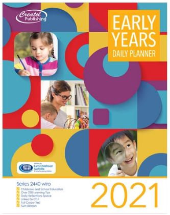 Createl Early Years Daily Planner 2021