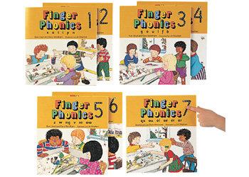 Jolly Phonics- Finger Phonics Set