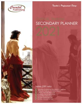 Secondary Weekly Catholic Planner 2021