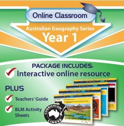 Online Classroom Australian Geography