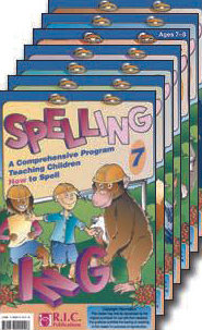 Spelling - A Comprehensive Program BLM