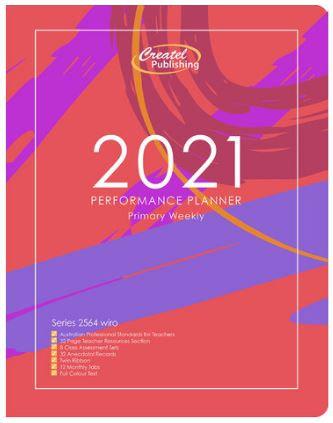 Createl Primary Performance Weekly Planner 2021