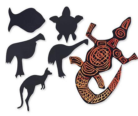 Scratch Australian Animals