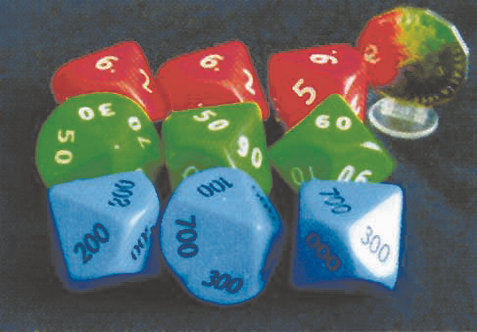 Place Value Dice (Set of 12)