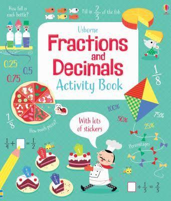 Fractions & Decimals Activity Book