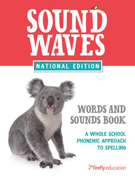 Sound Waves Words and Sounds Book (A5)