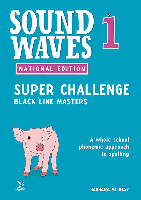 Sound Waves Super Challenge Black Line Masters